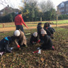 Volunteers smash Thames21 bulb planting target at Stanmore Marsh