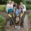 Leonie Cooper opens London Rivers Week at Ladywell Fields, Lewisham