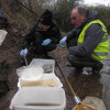 On Philpot's Farm you'll find some riverfly monitoring