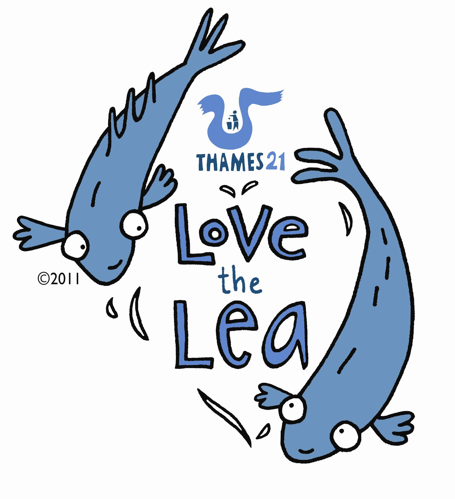 love the lea logo thames21
