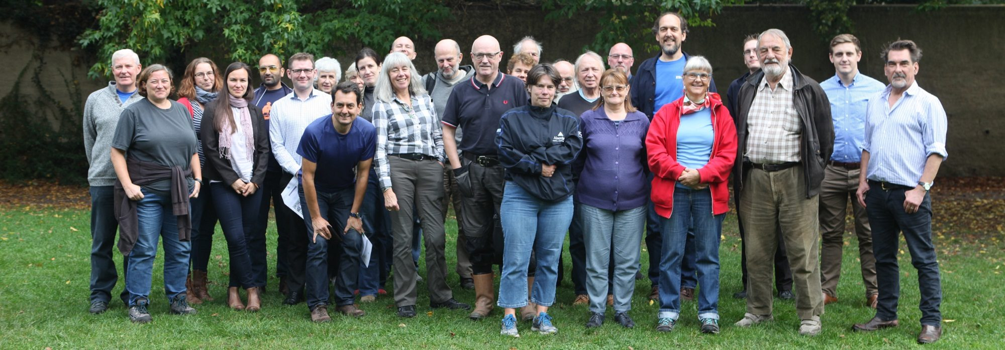 The group who trained for the Ravensbourne Outfall Safaris