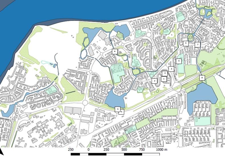 Thamesmead river improvement sites