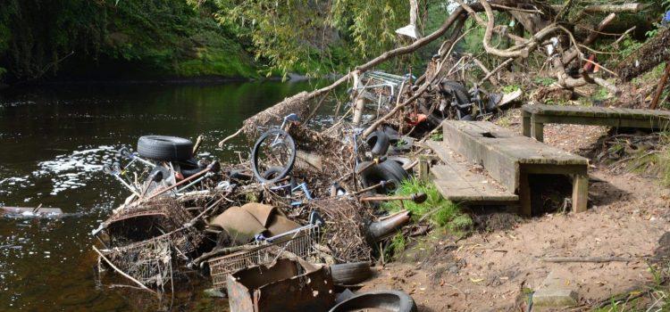 River Mersey rubbish